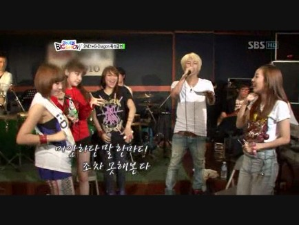 I Don't Care -  2NE1 ft GDragon _Chuseok Special SBS__0001